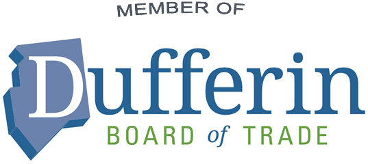 Proud member of Dufferin Board of Trade
