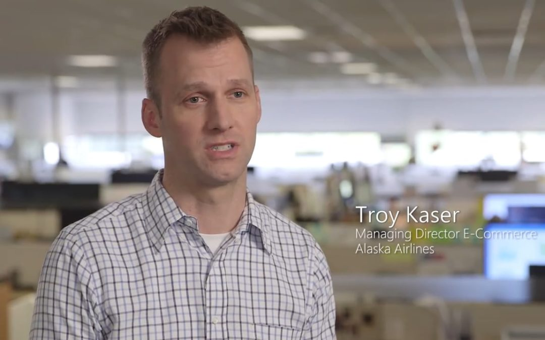 Alaska Airlines makes shopping easier with Azure and microservices