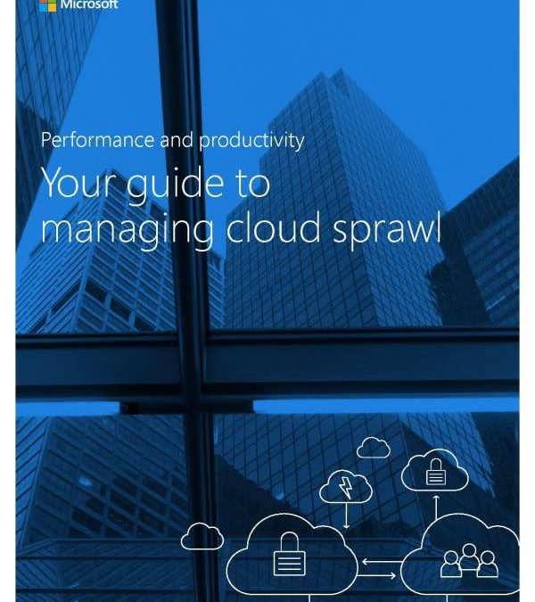 Performance and Productivity: Your Guide to Managing Cloud Sprawl
